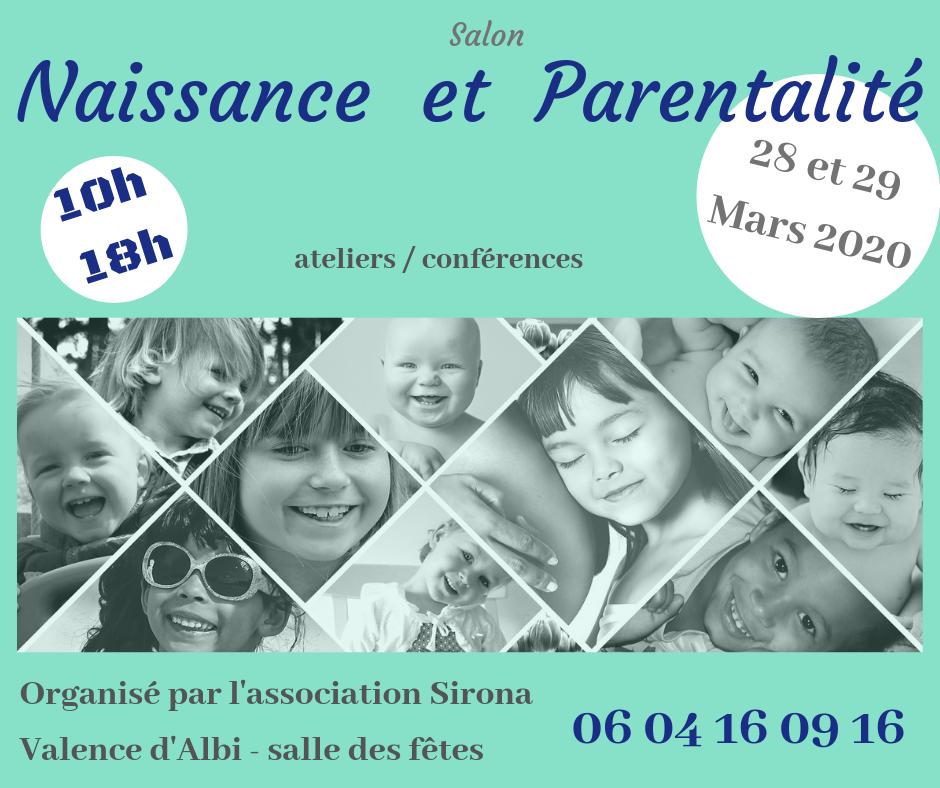 Affiche sirona salon parents mars 2020